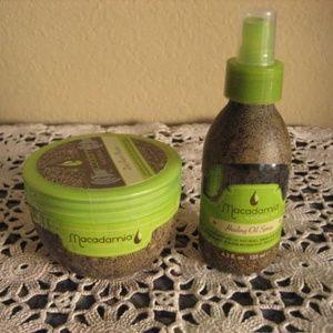 Macadamia Repair Masque & Healing Oil Spray